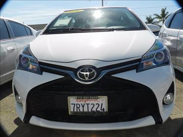 2016 Toyota Yaris for sale in Midway City CA