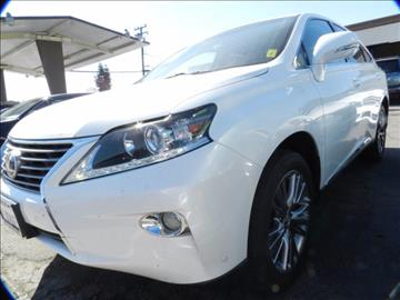 2013 Lexus RX 450h for sale in Midway City, CA