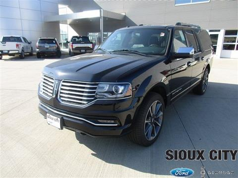 2017 Lincoln Navigator L for sale in Sioux City, IA
