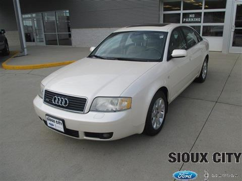 2002 Audi A6 for sale in Sioux City, IA
