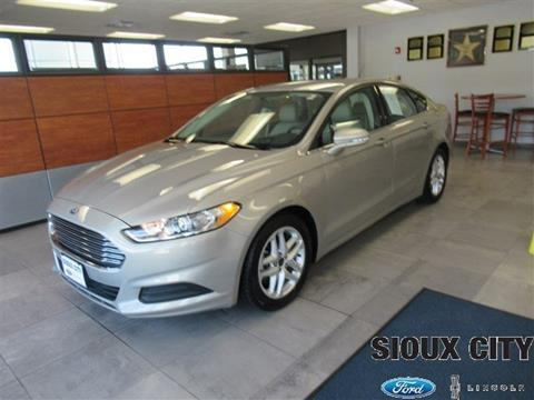 Sioux City Ford >> 2015 Ford Fusion For Sale In Sioux City Ia