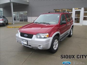 2007 Ford Escape for sale in Sioux City, IA