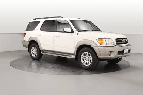 2004 Toyota Sequoia for sale at One Source Motors in Rockford MI