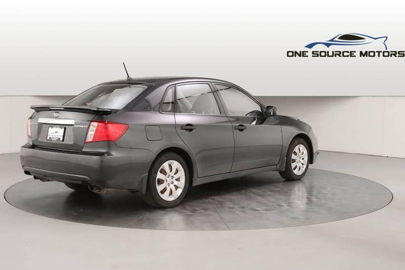 2008 Subaru Impreza for sale at One Source Motors in Rockford MI