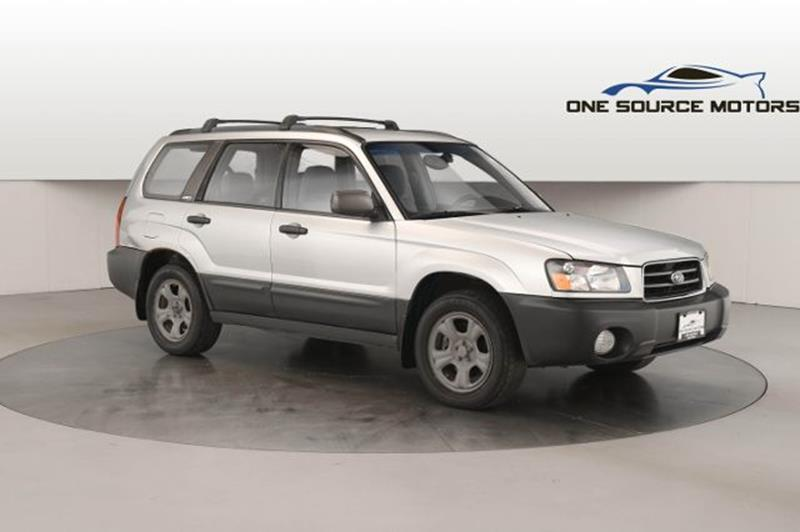 2003 Subaru Forester for sale at One Source Motors in Rockford MI