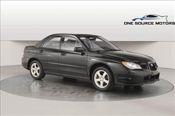 2006 Subaru Impreza for sale at One Source Motors in Rockford MI