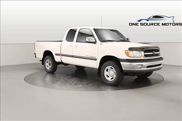 2002 Toyota Tundra for sale at One Source Motors in Rockford MI