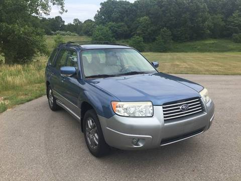 2007 Subaru Forester for sale at One Source Motors in Rockford MI