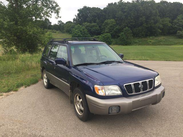 2002 Subaru Forester for sale at One Source Motors in Rockford MI