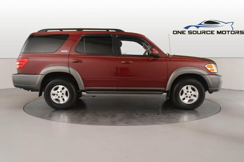 2003 Toyota Sequoia for sale at One Source Motors in Rockford MI