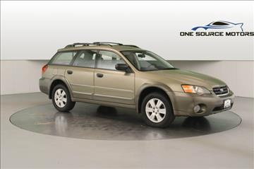 2005 Subaru Outback for sale at One Source Motors in Rockford MI
