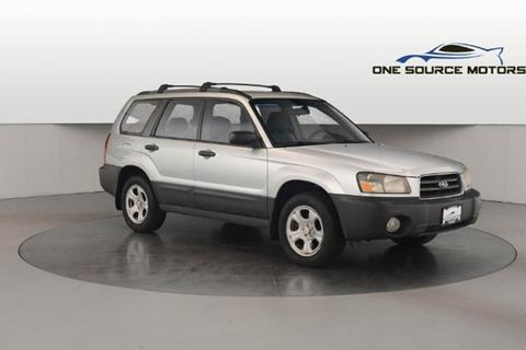 2005 Subaru Forester for sale at One Source Motors in Rockford MI