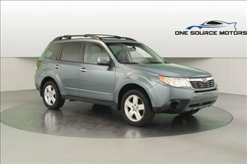 2009 Subaru Forester for sale at One Source Motors in Rockford MI