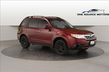 2011 Subaru Forester for sale at One Source Motors in Rockford MI