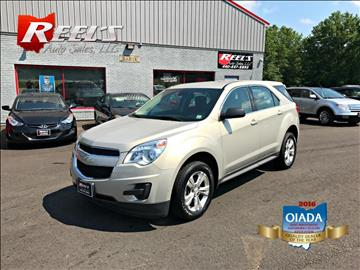 2012 Chevrolet Equinox for sale in Orwell, OH