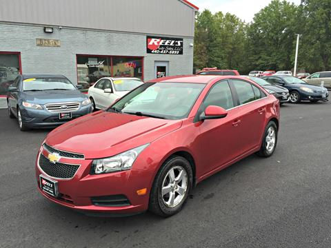 2012 Chevrolet Cruze for sale in Orwell, OH