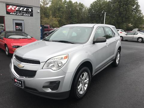 2011 Chevrolet Equinox for sale in Orwell, OH