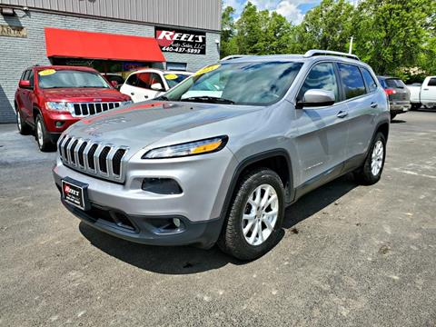 2015 Jeep Cherokee for sale in Orwell, OH