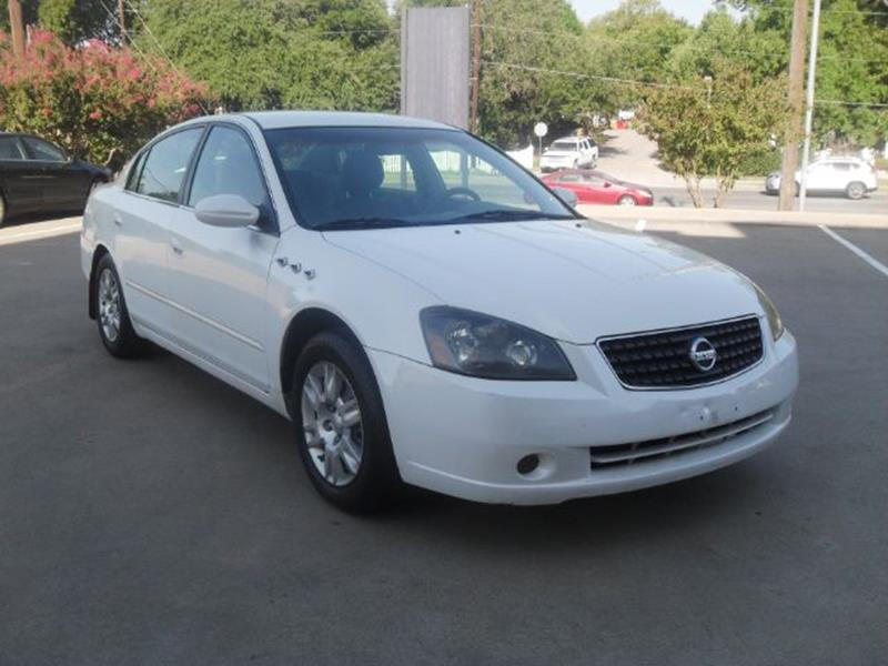 2006 Nissan Altima 25 4dr Sedan In Austin Tx Twin Motors