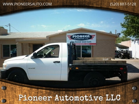 Used Trucks Tucson >> Used Dodge Trucks For Sale In Tucson Az Carsforsale Com