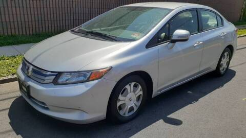 2012 Honda Civic for sale at G1 AUTO SALES II in Elizabeth NJ