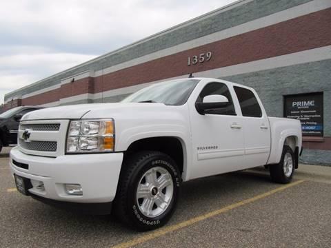 2011 Chevrolet Silverado 1500 for sale at PRIME MOTORS in Ham Lake MN