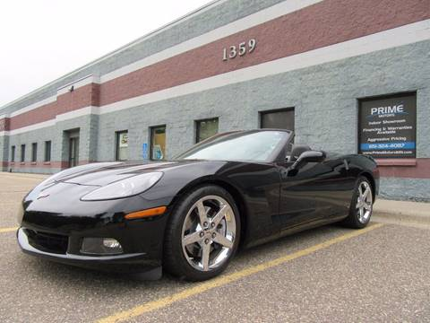 2007 Chevrolet Corvette for sale at PRIME MOTORS in Ham Lake MN
