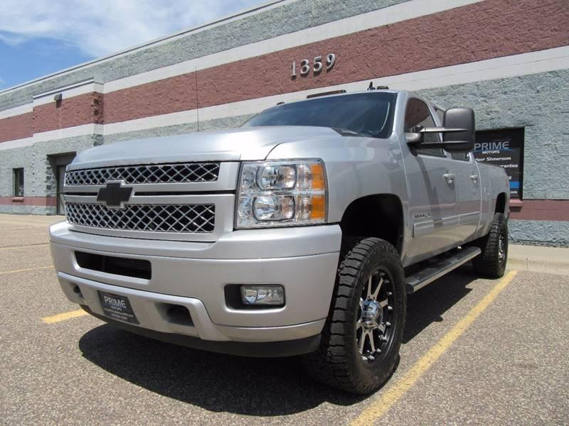 2013 Chevrolet Silverado 2500HD for sale at PRIME MOTORS in Ham Lake MN