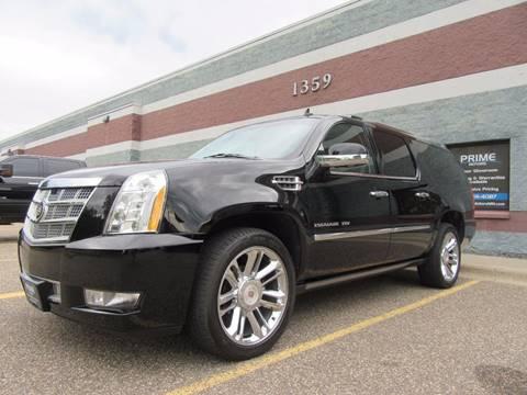 2013 Cadillac Escalade ESV for sale at PRIME MOTORS in Ham Lake MN