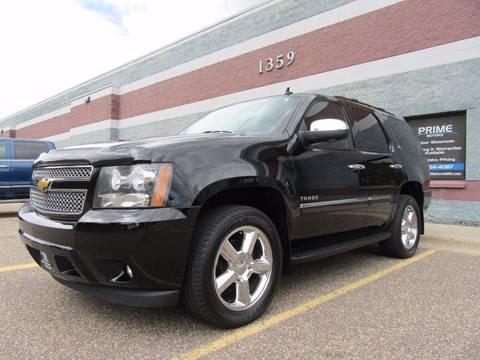 2012 Chevrolet Tahoe for sale at PRIME MOTORS in Ham Lake MN