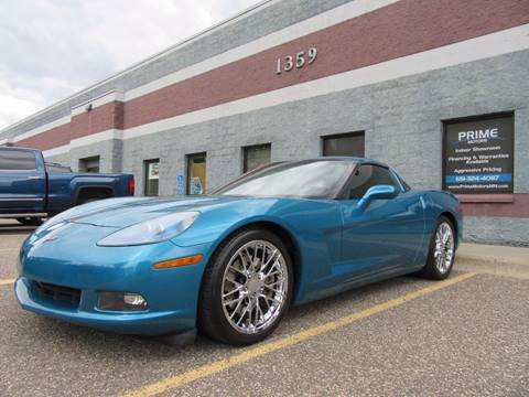 2008 Chevrolet Corvette for sale at PRIME MOTORS in Ham Lake MN