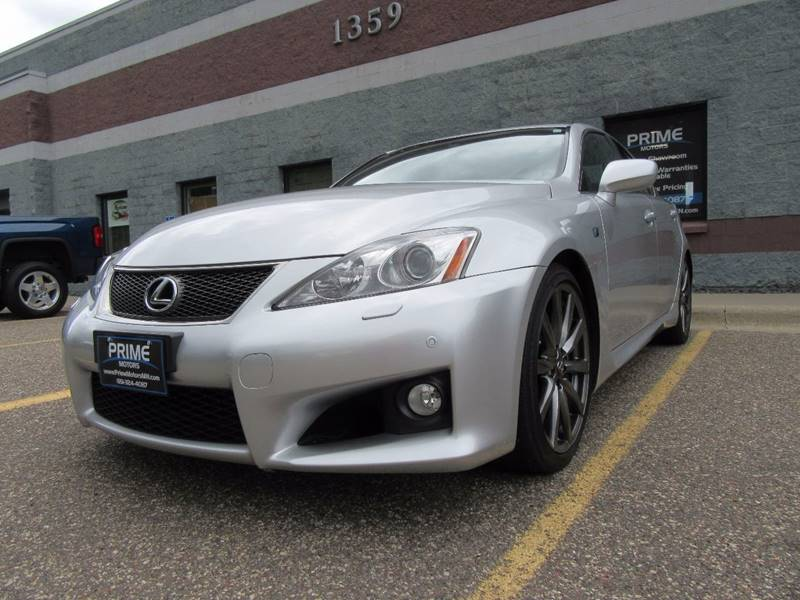 2008 Lexus IS F for sale at PRIME MOTORS in Ham Lake MN