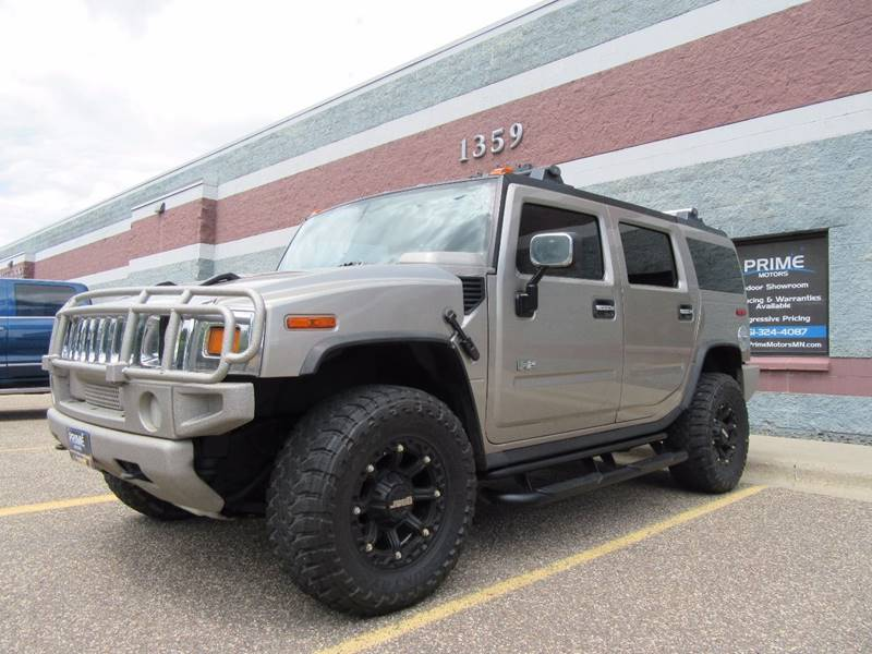 2003 HUMMER H2 for sale at PRIME MOTORS in Ham Lake MN