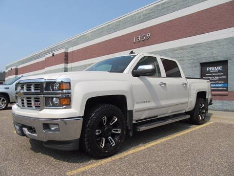 2015 Chevrolet Silverado 1500 for sale at PRIME MOTORS in Ham Lake MN