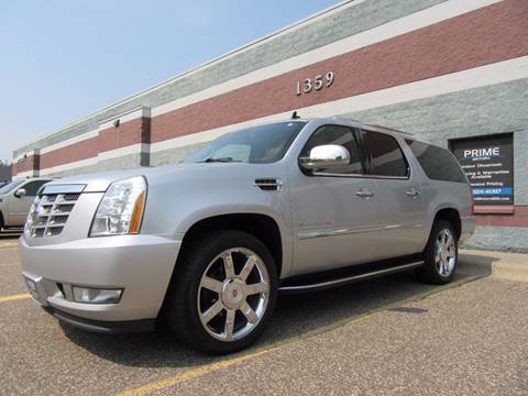 2012 Cadillac Escalade ESV for sale at PRIME MOTORS in Ham Lake MN