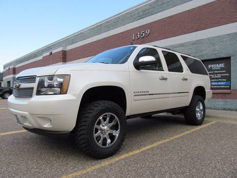 2013 Chevrolet Suburban for sale at PRIME MOTORS in Ham Lake MN