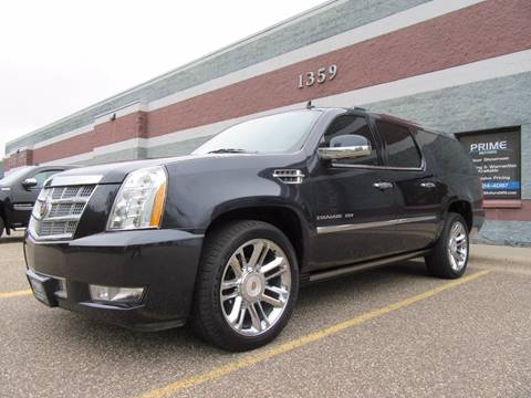 2013 Cadillac Escalade ESV for sale at PRIME MOTORS in Ham Lake MN