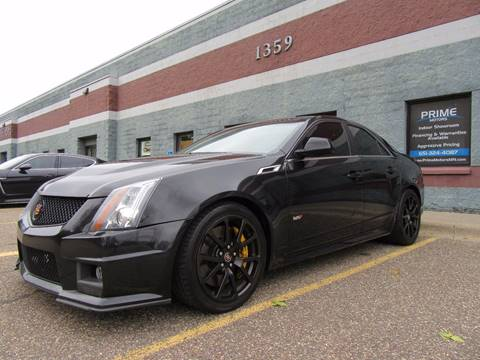 2012 Cadillac CTS-V for sale at PRIME MOTORS in Ham Lake MN