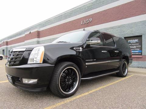 2009 Cadillac Escalade ESV for sale at PRIME MOTORS in Ham Lake MN