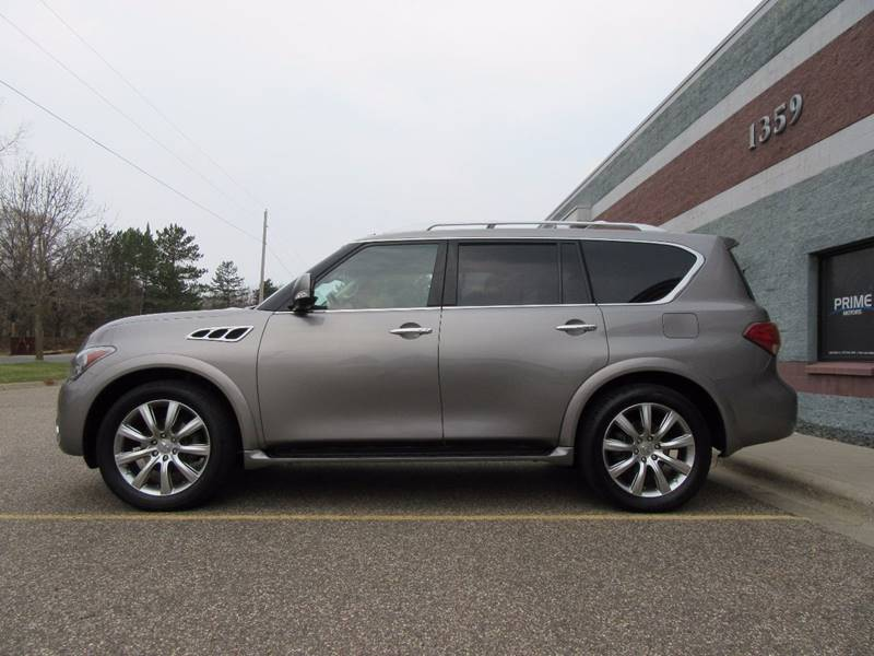 2012 Infiniti QX56 for sale at PRIME MOTORS in Ham Lake MN