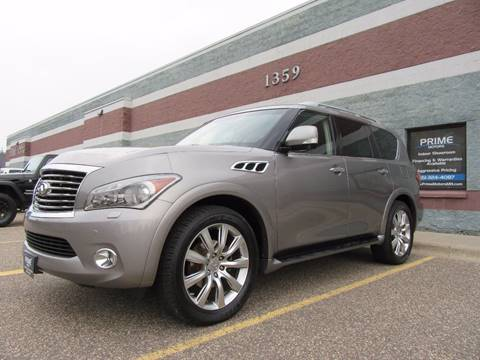 2012 Infiniti QX56 for sale in Ham Lake, MN