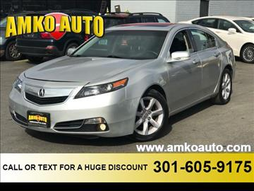 2013 Acura TL for sale in District Heights, MD