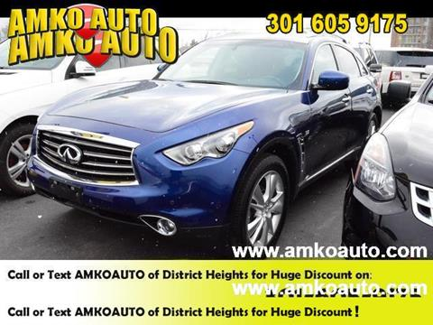 2014 Infiniti QX70 for sale in District Heights, MD