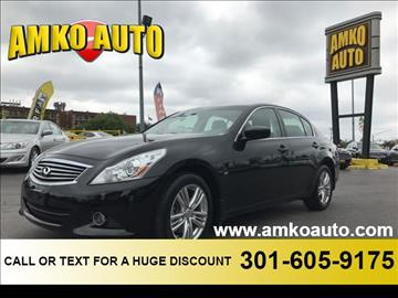 2015 Infiniti Q40 for sale in District Heights, MD