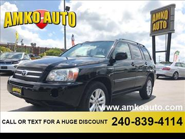 2006 Toyota Highlander Hybrid for sale in District Heights, MD