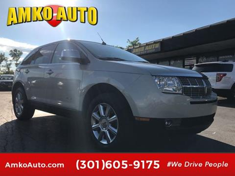 2007 Lincoln MKX for sale in District Heights, MD