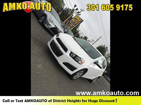 2013 Chevrolet Sonic for sale in District Heights, MD