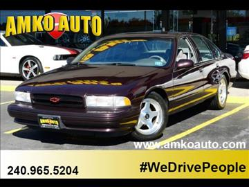 1996 Chevrolet Impala for sale in District Heights, MD