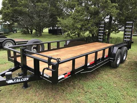 "2017 FALCON TRAILERS 83"" x 20 SUPERDUTY"