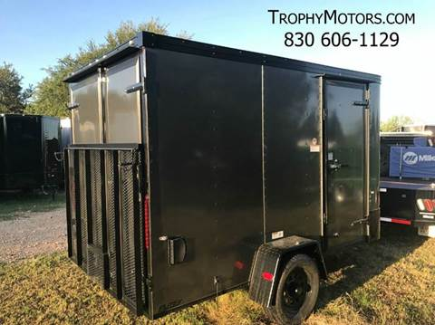 2017 CARGO CRAFT 6X12 DOOR/RAMP